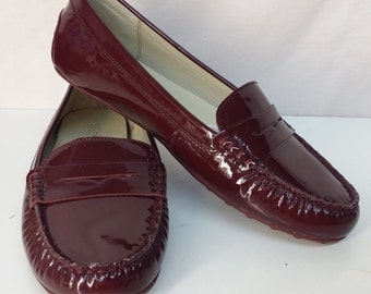 Vintage penny loafers 8.5