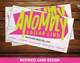 Custom Business Card Design- Business Card Design