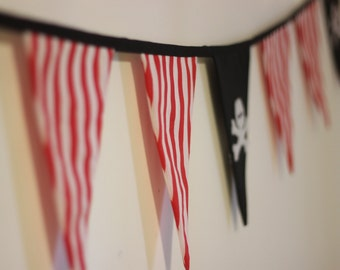 Shiver Me Timbers Pirate Bunting