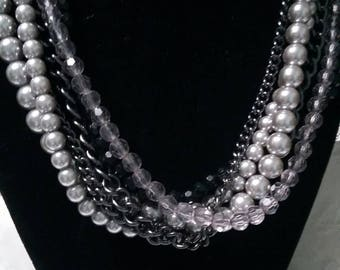 Premier Designs six strand beaded and chain