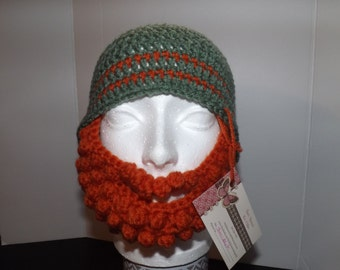 Hat with Beard Facewarmer