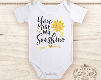 You Are My Sunshine Onesie®  - Baby Shower Gift - Unisex Onesie® - Unisex Baby Shower Gift