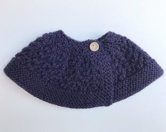 Royal Purple Capelet