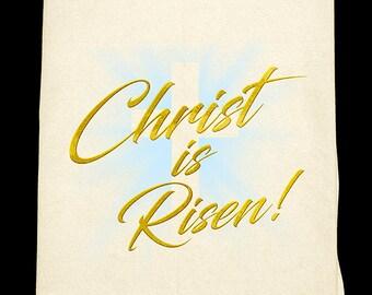 Christ is Risen! Easter Flour sack towel