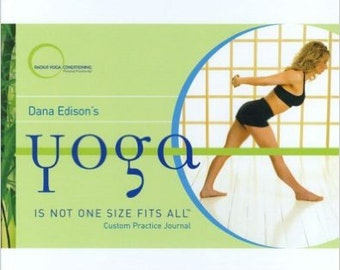 Dana Edison's Yoga is Not One Size Fits All Custom Practice Journal and companion two-CD set