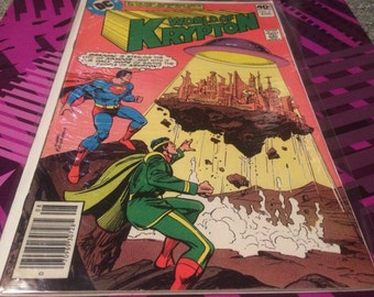 WORLD OF KRYPTON (1979) #2 Vintage Comic Book