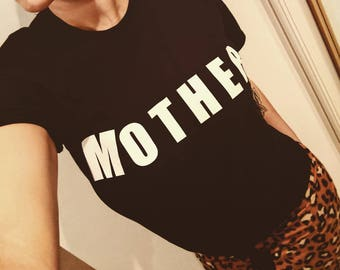 Mother T-shirt, Mother Top, Mum T-shirt, Mum gift, baby shower gift, gift for her, gifts for mum, personalised t-shirt