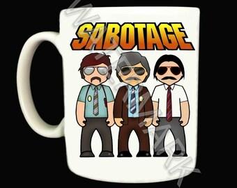 Beastie Boys Mug . Mugs .. SABOTAGE