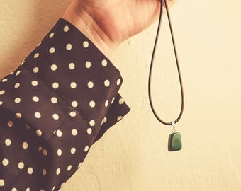 Green Aventurine Stone Necklace