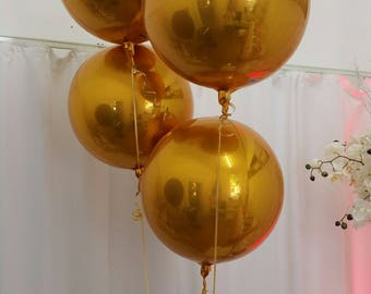 "Gold Foil Balloon - 43cm (17"")"
