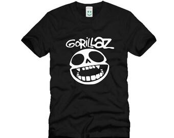 Gorillaz  T-shirt S M L XL XXL New Black tshirt Alternative Hip Hop Trip Hop Alternative Rock