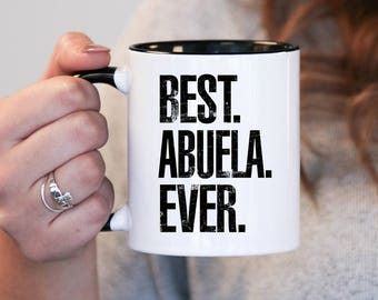 Christmas gift , Best Abuela Ever, Abuela Gift, Abuela Birthday, Abuela Mug, Abuela Gift Idea, Baby Shower