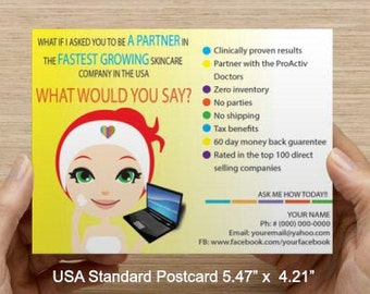 Custom R+F Business Opportunity Postcard FILE ONLY!!