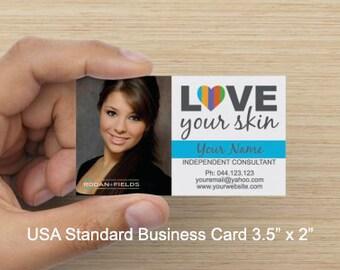 Photo Custom R+F Business Card File