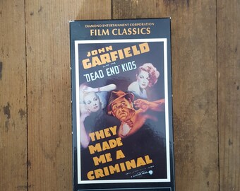 They Made Me A Criminal VHS