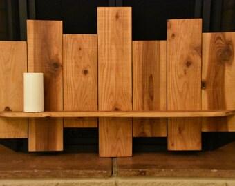Large Hanging Plank Shelf