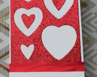 Handmade Valentine's Day card