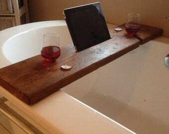 Sip & Soak Bath Shelf