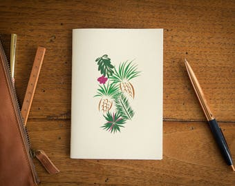 Cahier, notebook, notebook Aloha fruity, made in Provence
