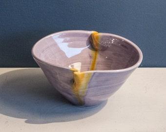 Pinch Bowl - art pottery