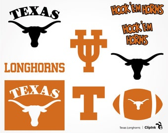 Texas Longhorns svg, Texas svg, Longhorns clipart, Texas clipart, digital – svg, eps, png, dxf, pdf. Decor Cut Print Mug Shirt Decal.