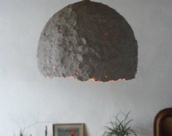 paper mache lampshades