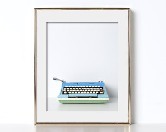 Digital Download Typewriter Office Decor Typography Prints Gift for Writers Typewriter Art Typewriter Print Gift for Authors Poetry Script