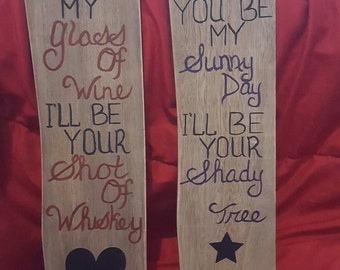 Set of 2 Country Planks