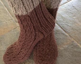 100% alpaca handmade socks
