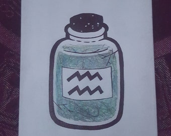 Bottled Up Aquarius