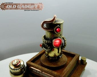 "Steampunk , USB flash drive, 32GB 2.0   ""Lenin GO"""