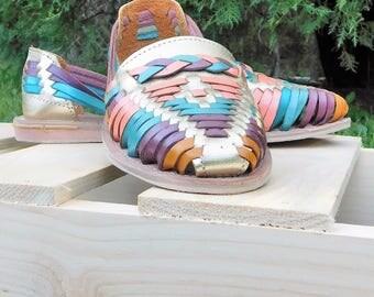 Handmade Leather Huaraches Sizes 8
