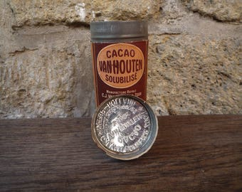 Tin canister Cacao Van Houten