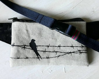 Bird on the wire - Fanny Pack