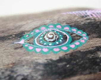 Nature Wind Spirit - Treibholz Wesen - Driftwood spirit - Natur - Unikat - Bild