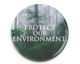 Environment Button / Pin