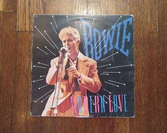 "David Bowie - ""Modern Love"" Vinyl Record"