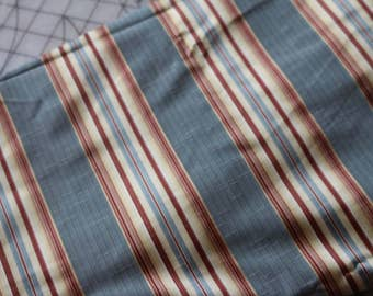 3 Light weight upholstery fabric striped 3