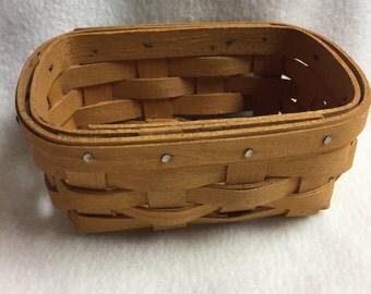 Longaberger Small Basket (#002)