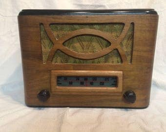 1946 Astra tube radio with bluetooth module.