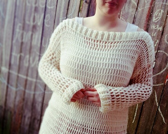 Handmade Crochet Sweater