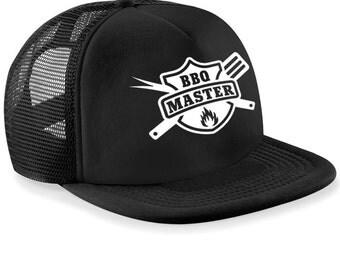 BBQ Master Hat   Grill Master Custom SnapBack Cap / Cooking, BBQ