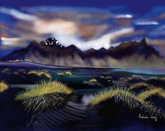 Desert By Midnight