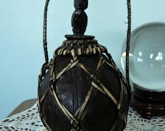 Vintage African Fang Bieri Style Medicine Gourd