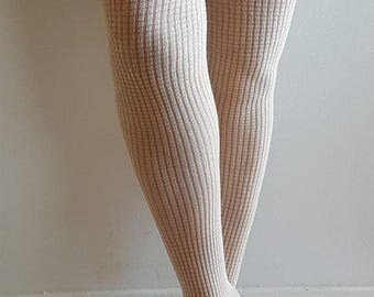 Women's tights | cotton tights | elegant tights | Present for Mother | gift for her | Eco tights