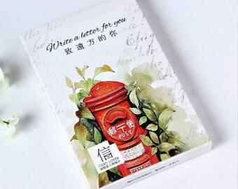 30 Pc Set ~ Write a Letter For You Postcards, Retro Vintage Postcard, Nostalgia Card Penpal, Greeting Kawaii Stationery, Beautiful Postcards