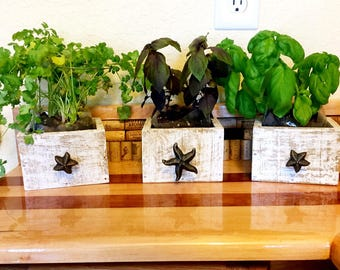 Indoor Herb Planter Amusing Herb Planter  Etsy Decorating Inspiration