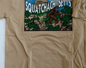 Visit Squatchachusetts® tee
