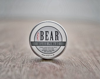 BEAR Deluxe Pomade 100ml (by Befaf) a barber grade product for men and women
