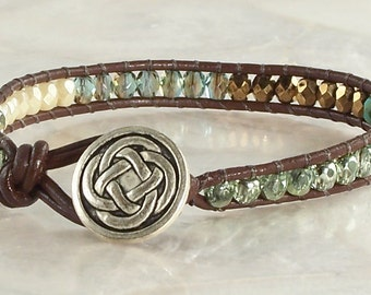 Vaci Bracelet - Brown Leather